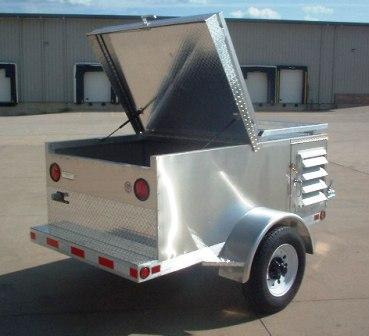 Dog Trailer bumper pull & single axle dog trailers
