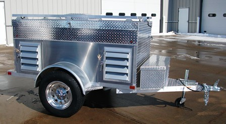 Bumper Pull Amp Single Axle Dog Trailers