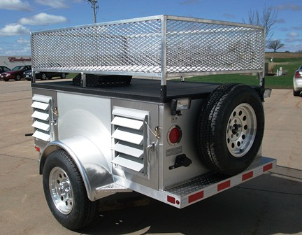 Four Crate Trailer With Front Storage-B